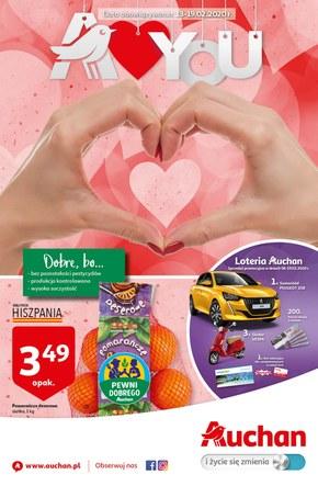 Walentynkowe promocje w Auchan Hipermarket