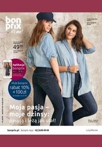 Gazetka promocyjna BonPrix - Moja pasja, moje dżinsy! BonPrix
