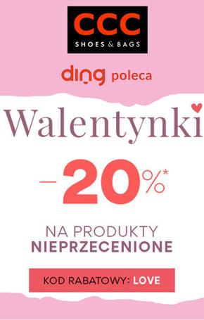 Walentynkowe okazje w sklepach CCC
