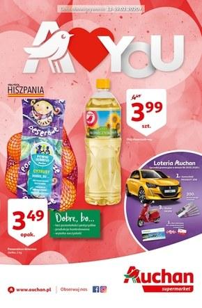 Promocje na Walentynki w Auchan Supermarket!