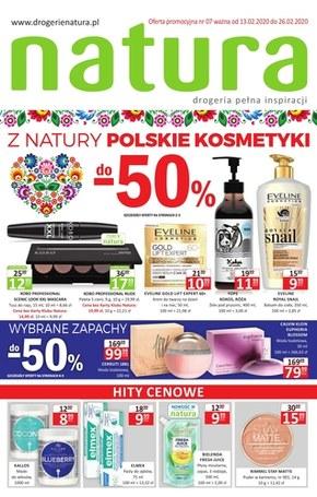 Polskie kosmetyki z Drogerii Natura