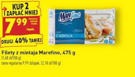 Filet z mintaja Marefino