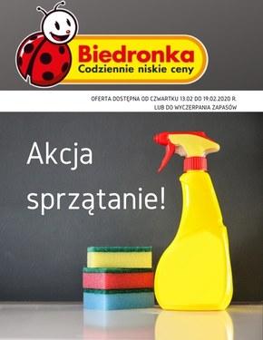 Akcja sprzątanie - Biedronka