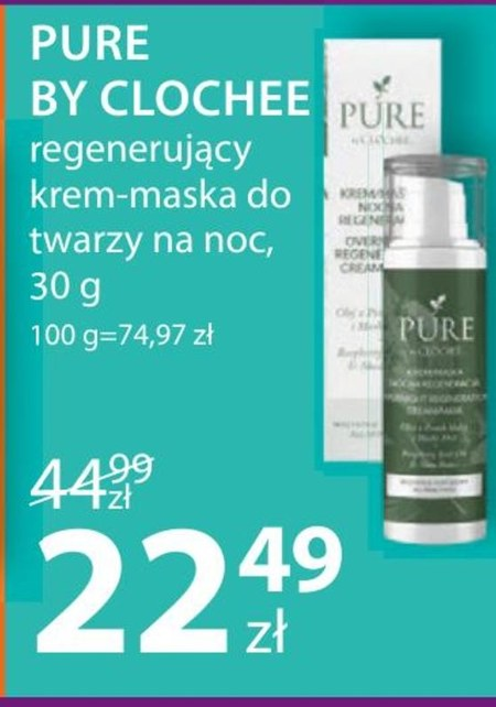 Maska do twarzy Pure by Clochee