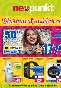 Gazetka promocyjna NEOPUNKT - Karnawał niskich cen w Neopunkcie - ważna do 25-02-2020