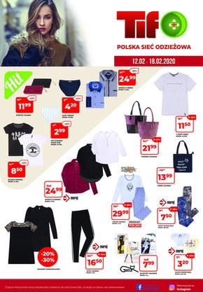 Promocje na odzież w sklepach Tifo!