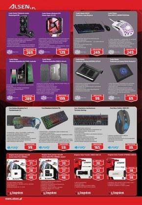 Komputery gamingowe w sklepach Alsen!