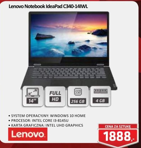 Notebook IdeaPad C340-14IWL Lenovo