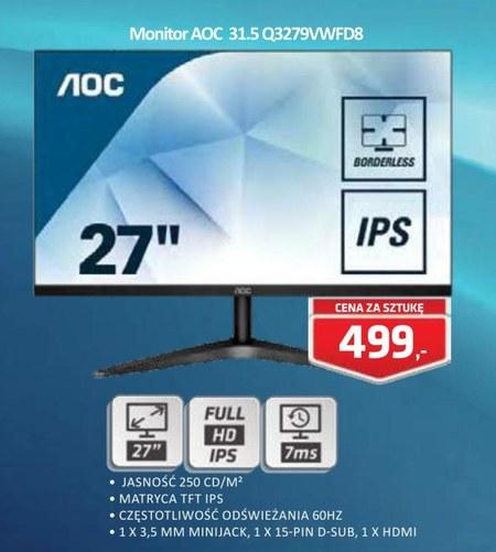 Monitor 31.5 Q3279VWFD8 AOC