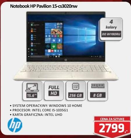 Notebook Pavilion 15-cs3020nw HP