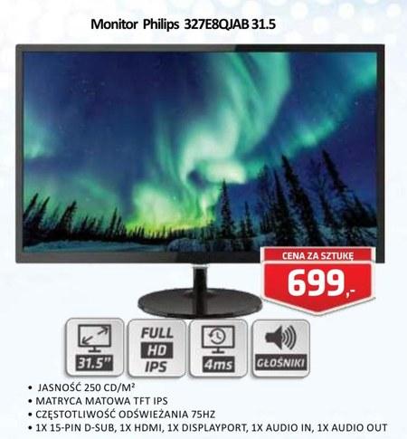 Monitor 327E8QJAB 31.5 Philips