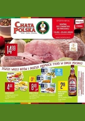 Promocje w Chacie Polskiej!
