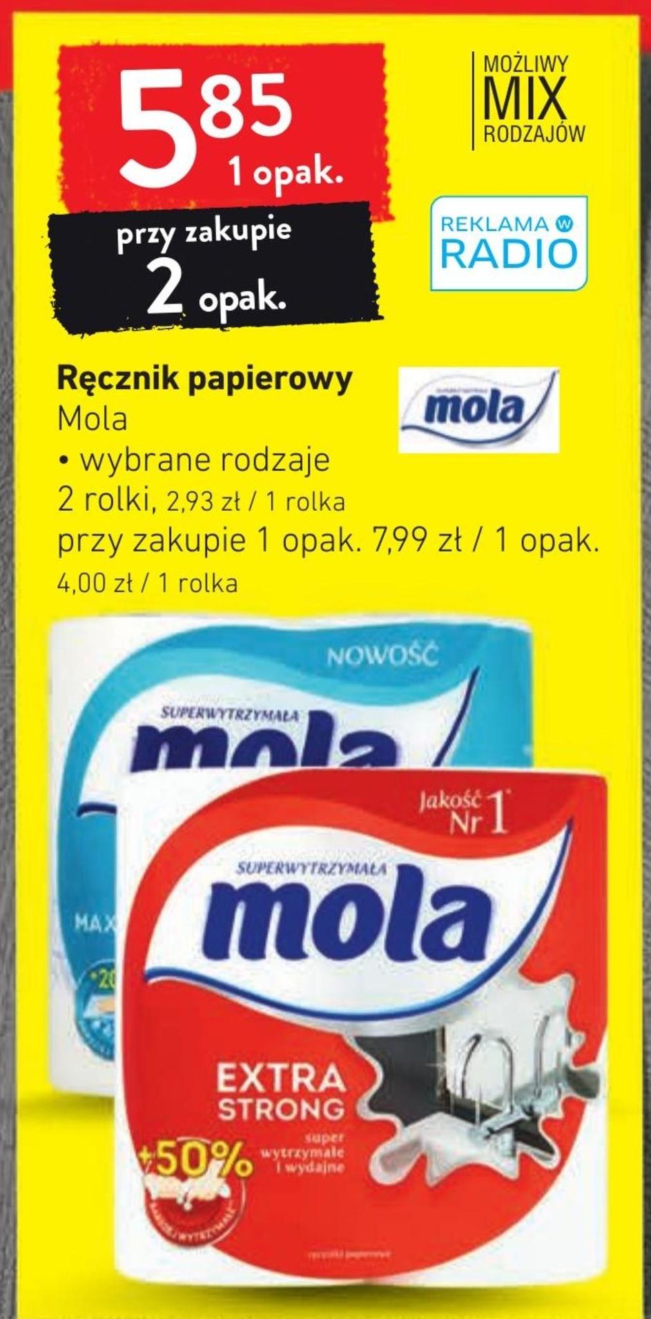 Ręcznik papierowy Mola niska cena
