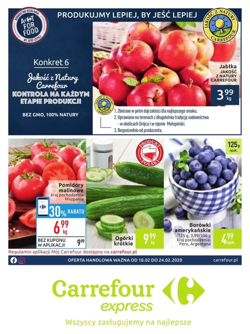 Gazetka promocyjna Carrefour Express - ważna od 18. 02. 2020 do 24. 02. 2020