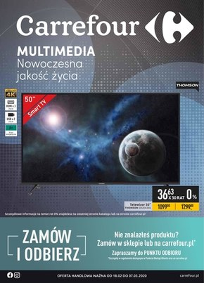 Multimedia w Carrefour!