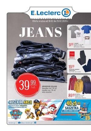 Gazetka promocyjna E.Leclerc - Oferta Jeans w E.Leclerc Zamość