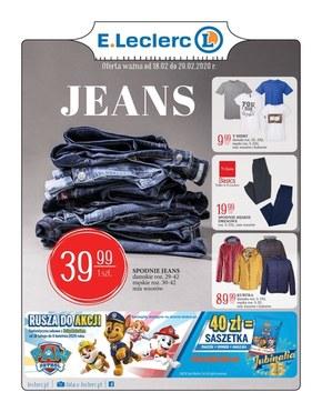 Oferta Jeans w E.Leclerc Bełachatów, Kłodzko