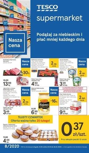 Płać mniej każdego dnia z Tesco Supermarket!