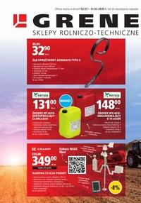 Gazetka promocyjna Grene - Rolniczo - techniczne inspiracje Grene  - ważna do 31-03-2020