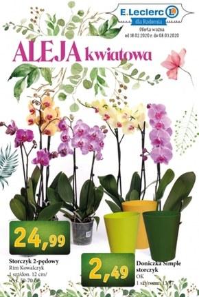 Aleja kwiatowa E. Leclerc
