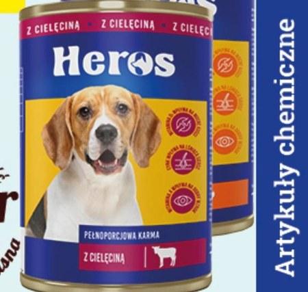 Karma dla psa Heros