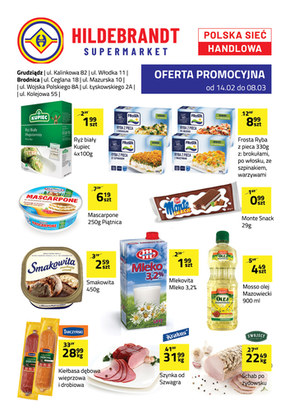 Promocje w sklepach Hildebrandt - Grudziądz i Brodnica