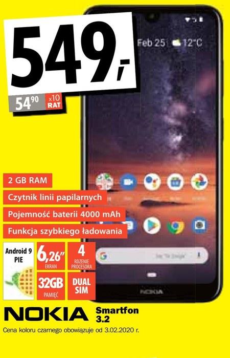 Smartfon Nokia 3.2 Nokia