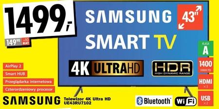 Telewizor LED UE43RU7102 Samsung