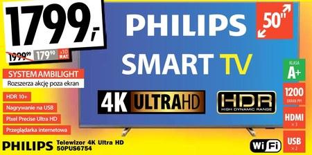 Telewizor LED 50US6754 Philips