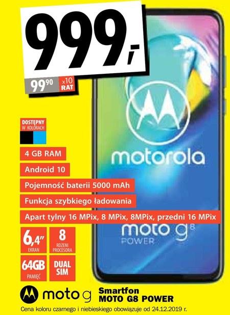 Smartfon Moto G8 Power Motorola