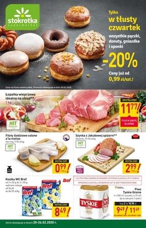 Oferta handlowa - Strokrotka Supermarket