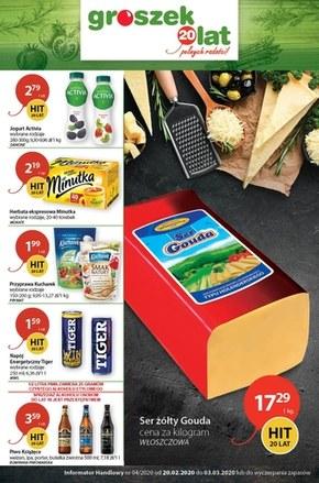 Groszek - najnowsza oferta promocyjna