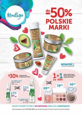 Polskie marki 50% taniej w Kontigo!