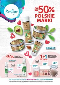 Gazetka promocyjna Kontigo - Polskie marki 50% taniej w Kontigo! - ważna do 29-02-2020
