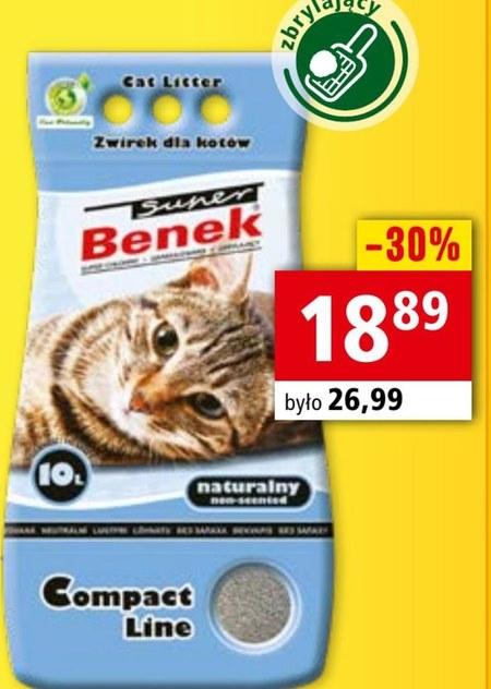 Żwirek dla kota Benek
