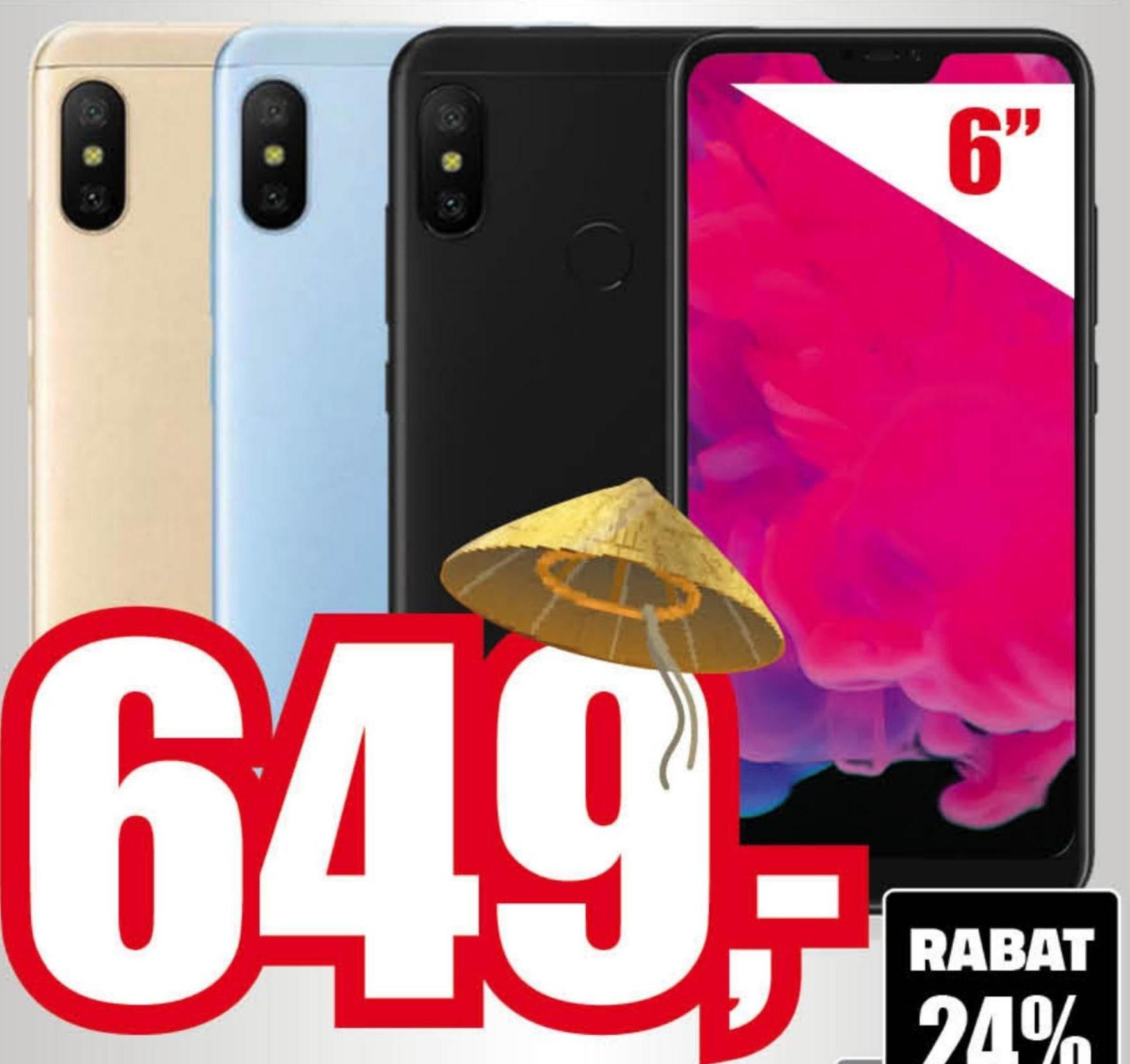 Smartfon MI A2 Lite Xiaomi niska cena