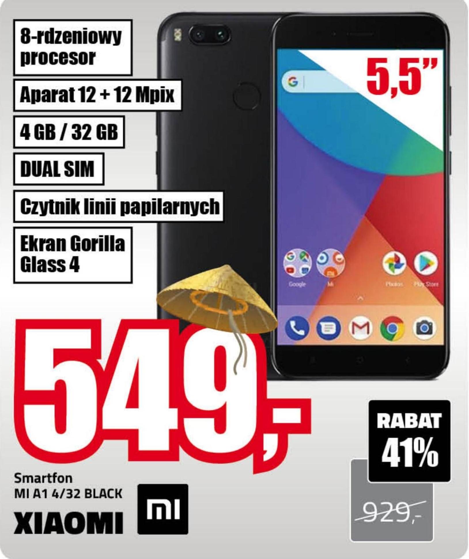 Smarfon MI A1 Xiaomi niska cena