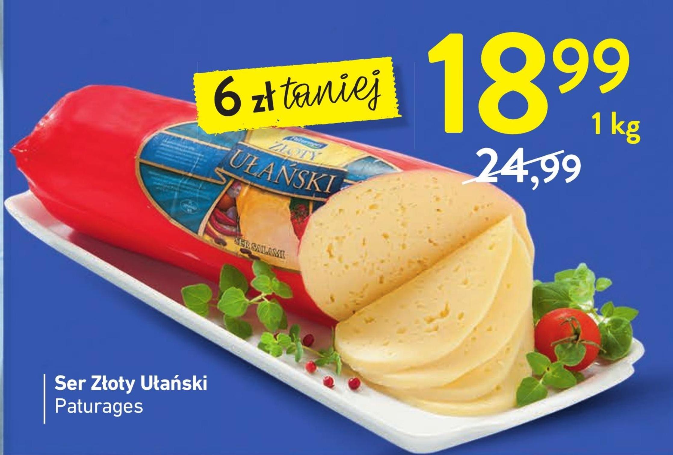 Ser żółty Ułański niska cena