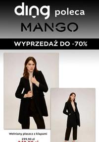 Gazetka promocyjna Mango - Modne wyprzedaże w sklepach Mango ! - ważna do 18-03-2020