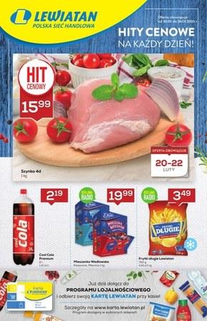 Promocje w sklepach Lewiatan - Podkarpacie