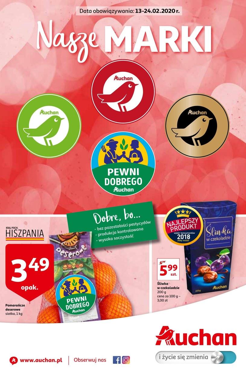 Gazetka promocyjna Auchan Hipermarket - ważna od 13. 02. 2020 do 24. 02. 2020