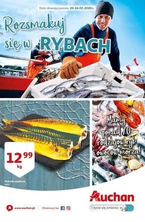 Targ rybny w Auchan Hipermarket!