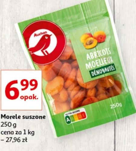 Morele suszone Auchan