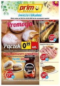 Gazetka promocyjna Prim Market - Najnowsza oferta promocyjna Prim Market! - ważna do 26-02-2020
