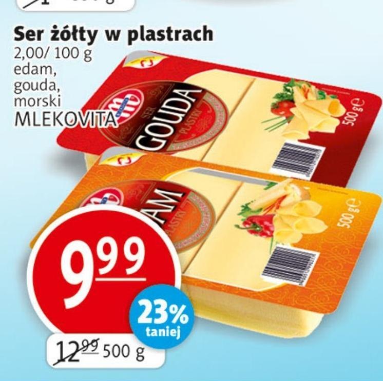 Ser żółty Mlekovita niska cena