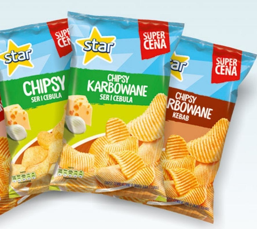 Chipsy Star chips niska cena