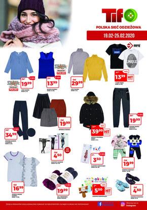 Promocje w sklepach Tifo