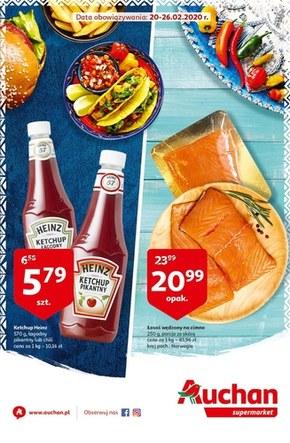 Promocje w sklepach Auchan Supermarket!