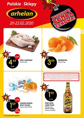 Oferta weekendowa Arhelan