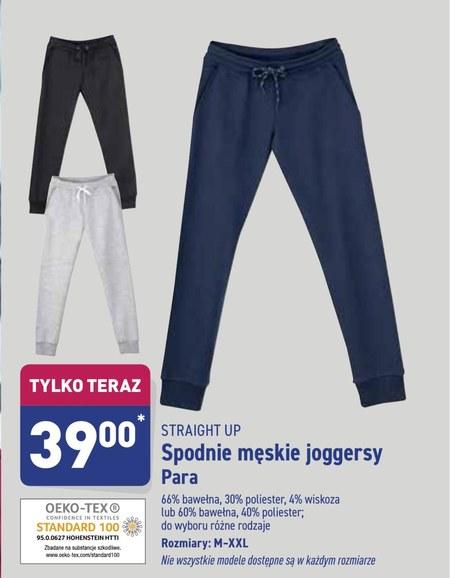 Spodnie męskie joggery Straight Up